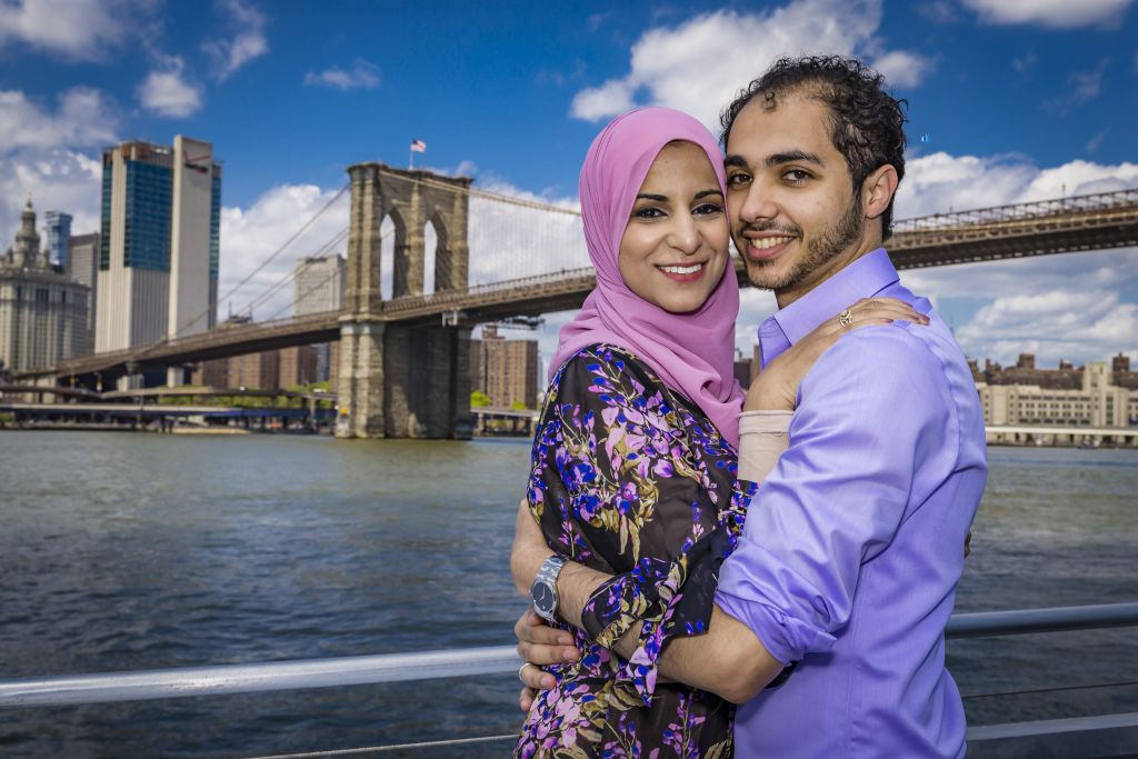 Muslim Wedding Brooklyn Bridge