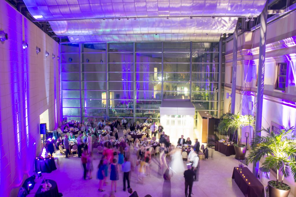 wedding lighting in tampa uplighting and projection