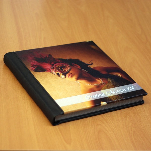 Leather Storybook album
