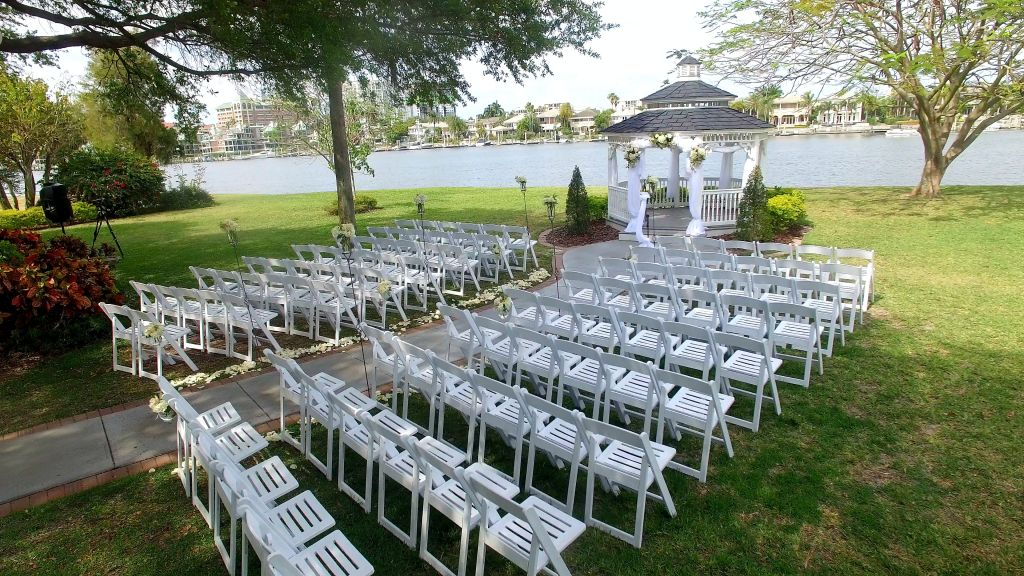 Wedding at Davis Island Garden Club