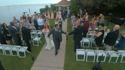 June wedding at The Rusty Pelican