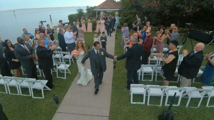 June wedding at The Rusty Pelican