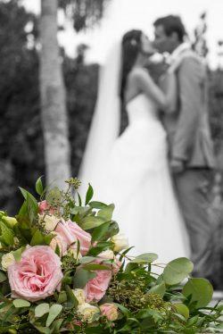 wedding at Hollis Gardens