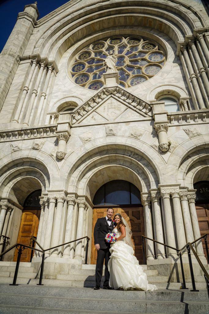 Wedding at Sacred Heart Catholic Church