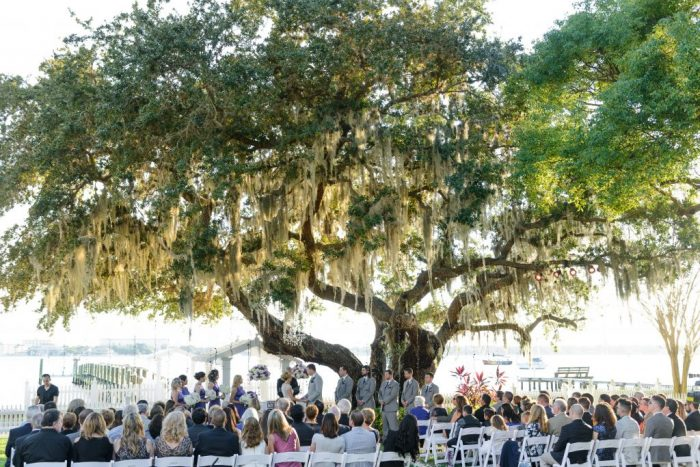 Wedding at Palmetto Riverside Bed & Breakfast