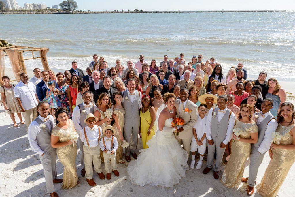 Shepards Clearwater Beach Wedding