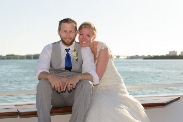 Wedding on Yacht Sensation