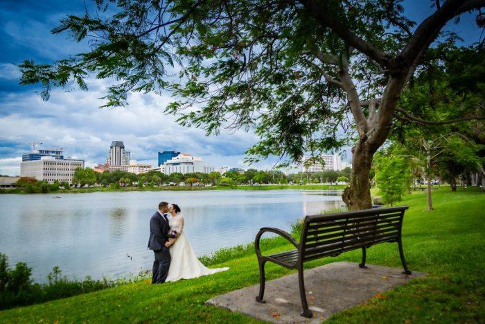 Wedding at Mirror Lake Lyceum