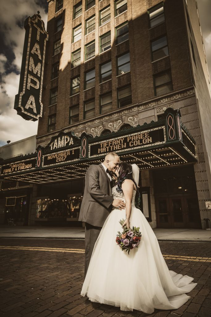 Wedding at Tampa Theatre