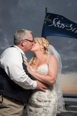 Wedding on Yacht Starship1