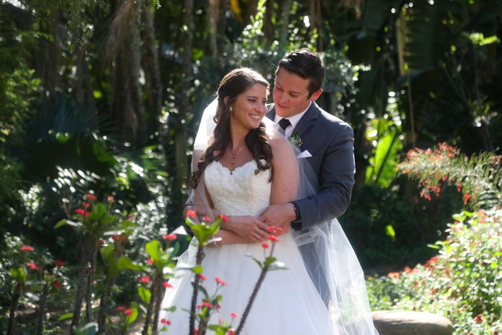 Wedding at Sunken Gardens