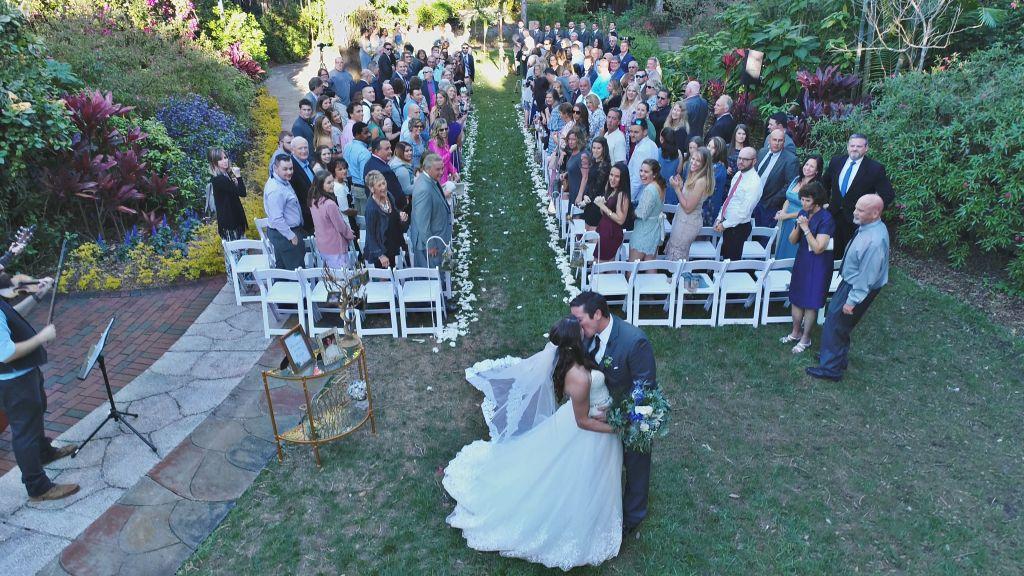 Sunken Gardens Wedding.Wedding At Sunken Gardens By Our Photographers In St