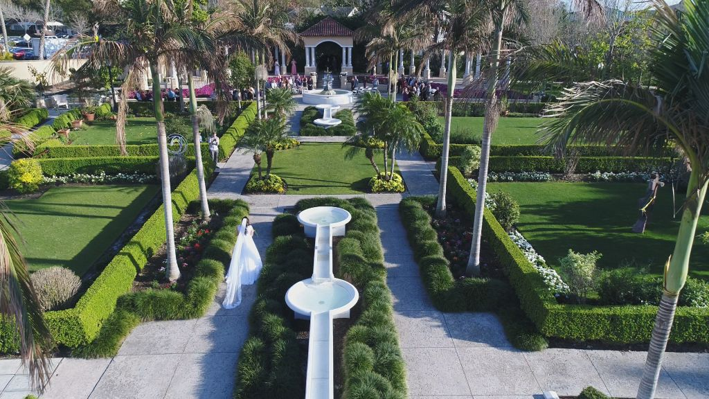 March Wedding at Hollis Gardens - Celebrations of Tampa Bay ...