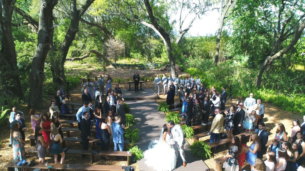 Wedding at Cross Creek Ranch Enchanted Garden - Celebrations of ...