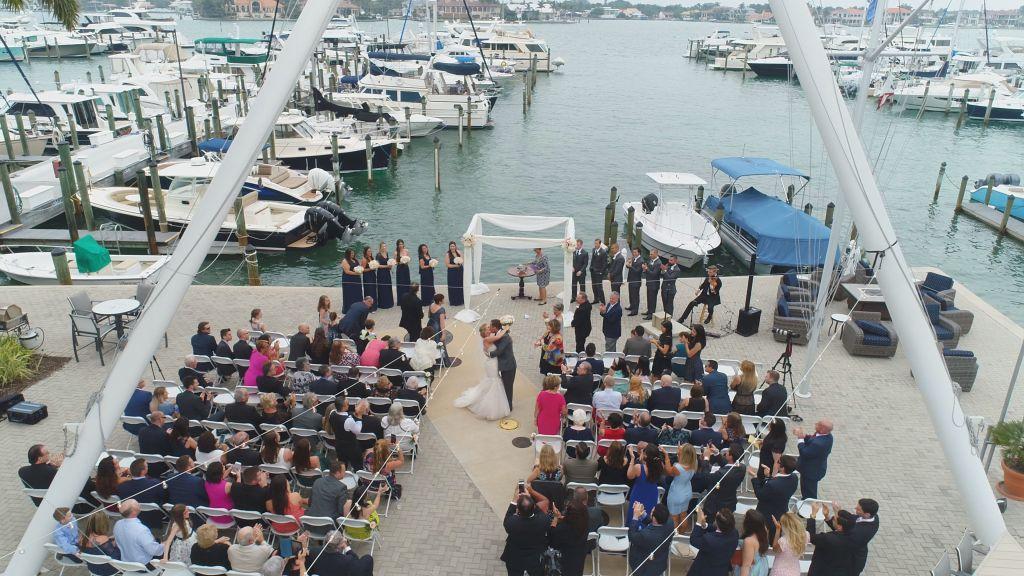 Wedding At Sarasota Yacht Club
