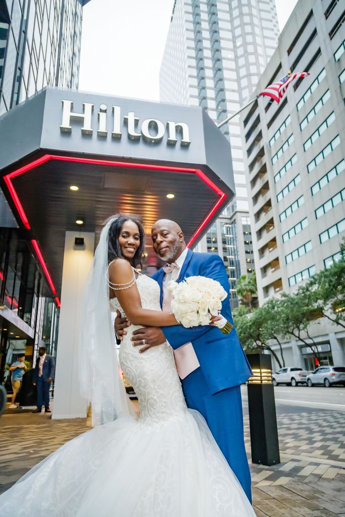 Wedding at Hilton Downtown Tampa