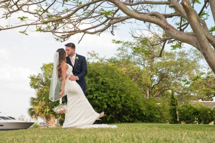 Wedding at Davis Island Garden Club